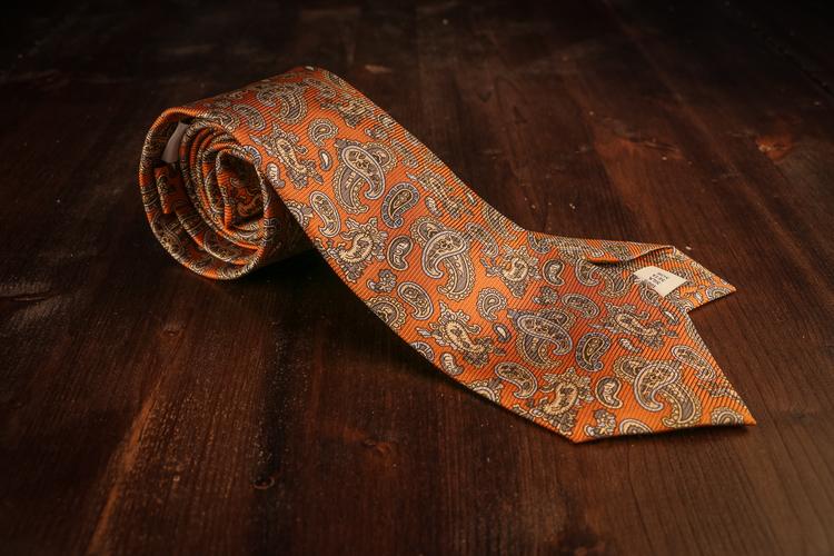 Vintage Paisley - Orange