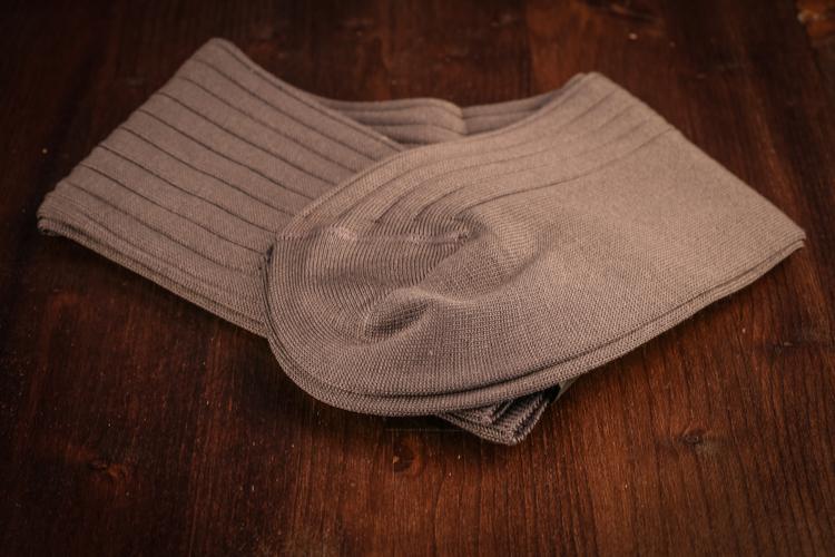 Cotton Socks - Grey