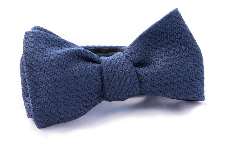 Self tie Garza Grossa - Navy Blue