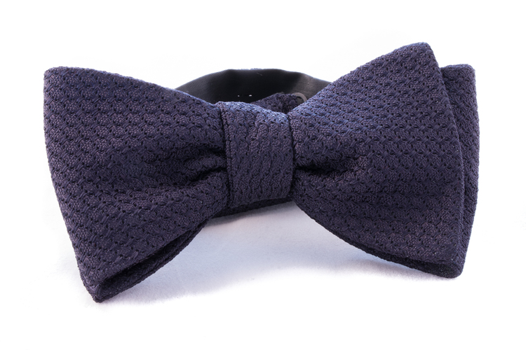 Self tie Garza Grossa - Dark Navy Blue