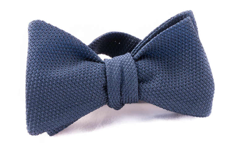 Self tie Garza Fina - Navy Blue