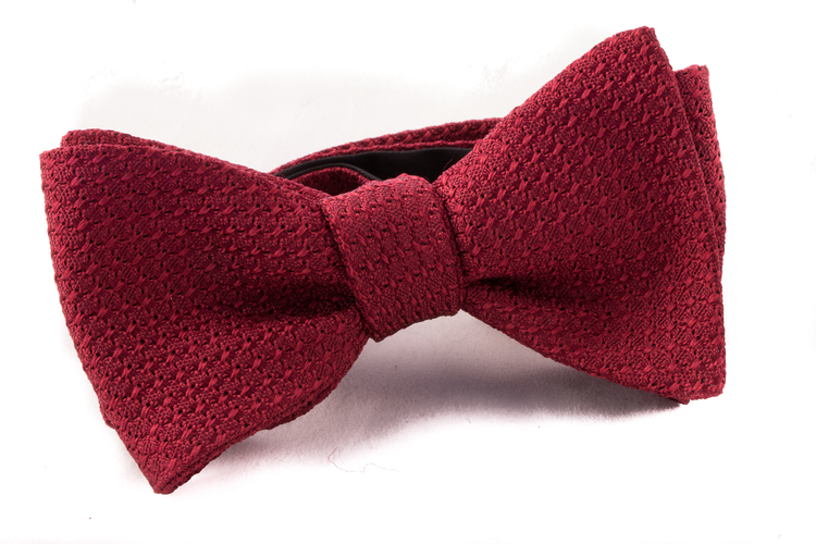 Self tie Garza Grossa - Burgundy