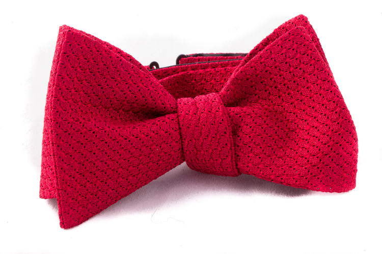 Self tie Garza Grossa - Red