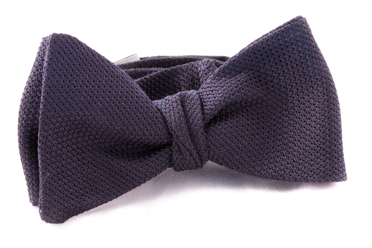 Self tie Garza Fina - Dark Navy