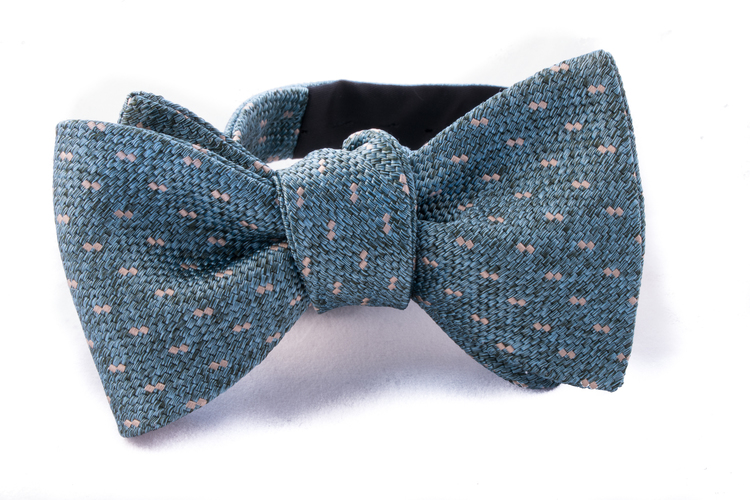 Self tie Silk - Turquoise