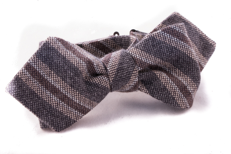 Self tie Cashmere - Grey/Brown/Beige