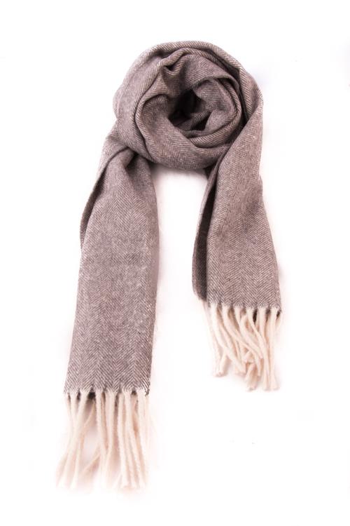 Herringbone Wool - Grey