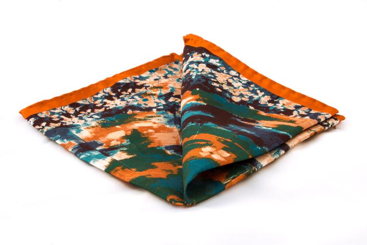 Silk Batik - Rust
