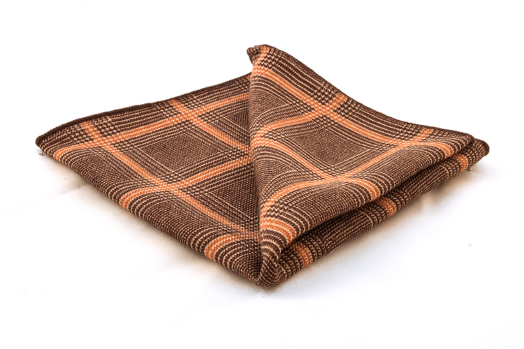 Wool Plaide - Brown/Beige