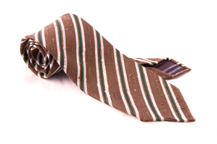 Untipped Regimental - Brown/Green/White
