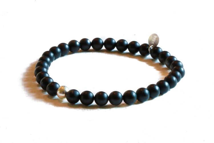 Bracelet - Black/Silver