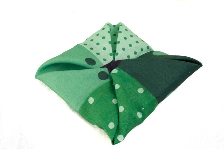 Linen Quattro - Green