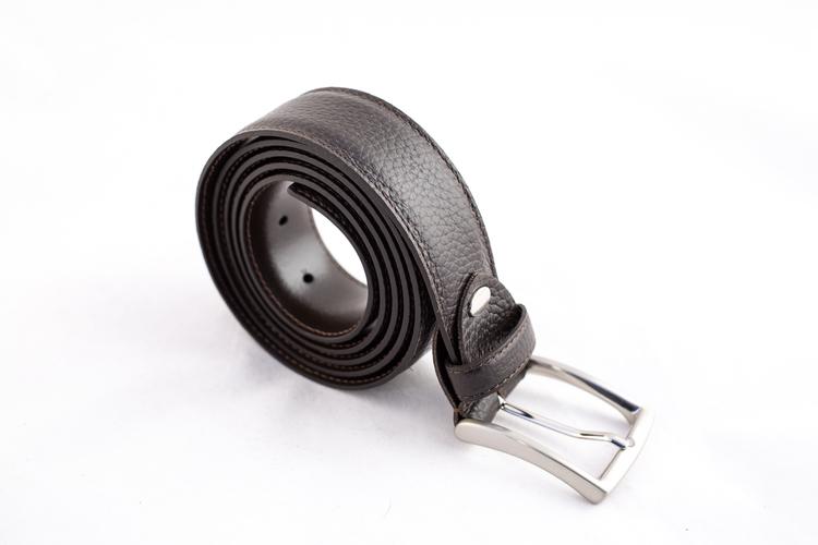 Calf Leather Belt - Brown