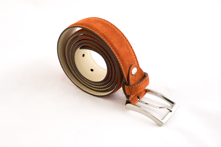 Suade Belt - Orange