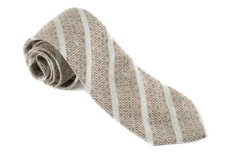 Cotton Regimental - Brown/Beige