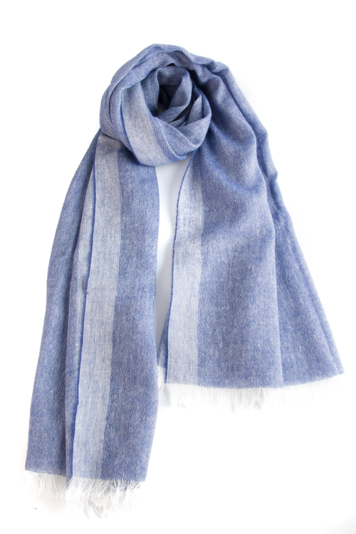 Scarf Solid - Navy Blue