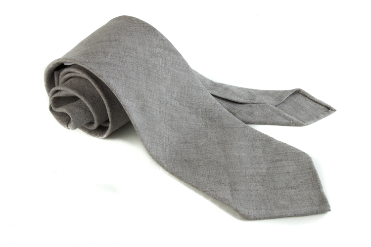 Linen Solid Untipped - Grey
