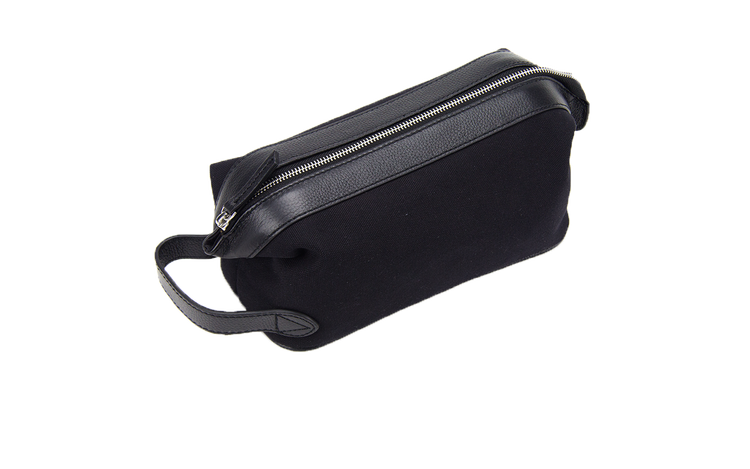 Wash bag - Black Canvas