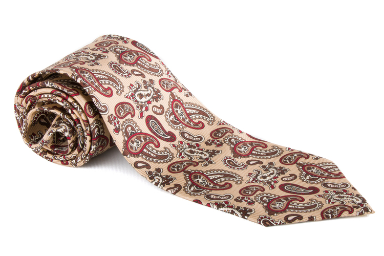 Vintage Paisley - Yellow/Brown/Red