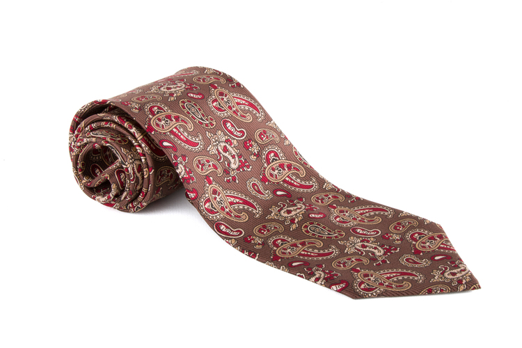 Vintage Paisley - Brown/Red/Beige
