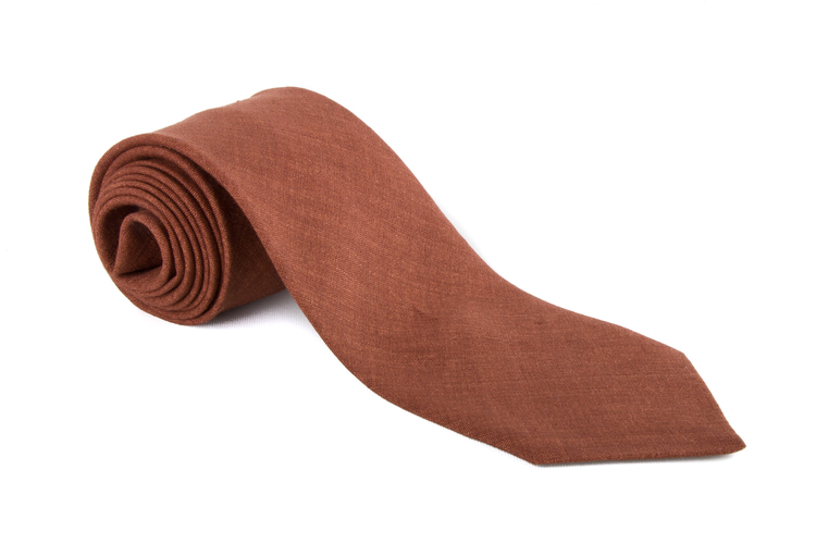 Linen Solid - Brown