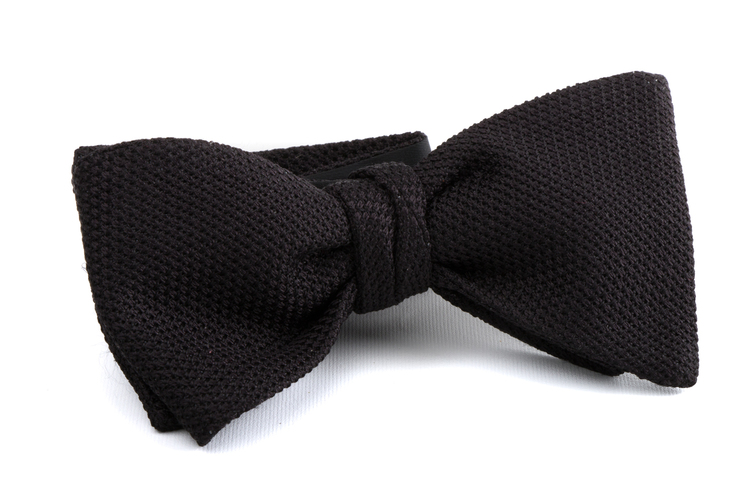 Self tie Garza Fina - Black