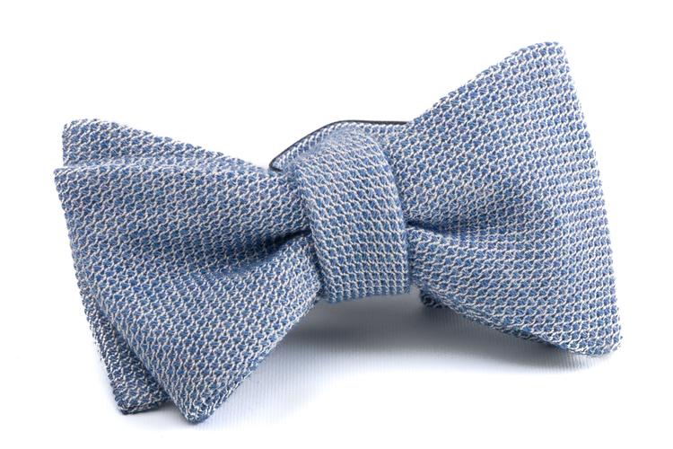 Self tie Grenadine Solid - Light Blue