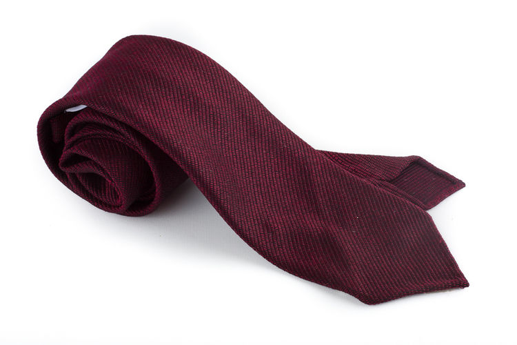 Silk Solid Untipped - Burgundy