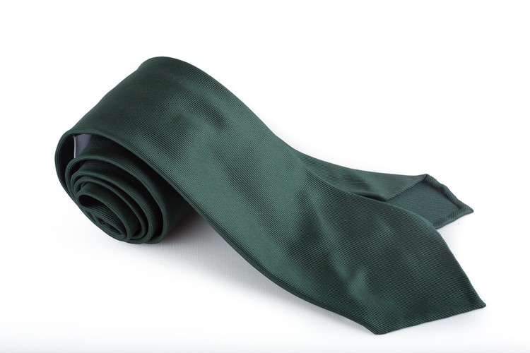 Silk Solid Untipped - Dark Green