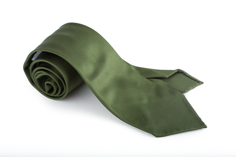 Silk Solid Untipped - Green