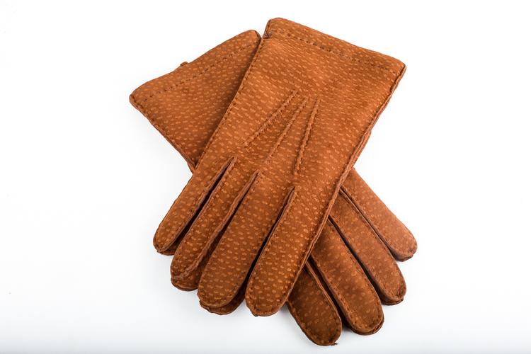 Carpincho Gloves - Cognac
