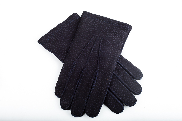 Carpincho Gloves - Navy Blue