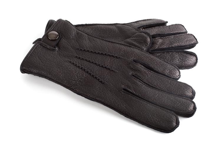 Leather Gloves - Black