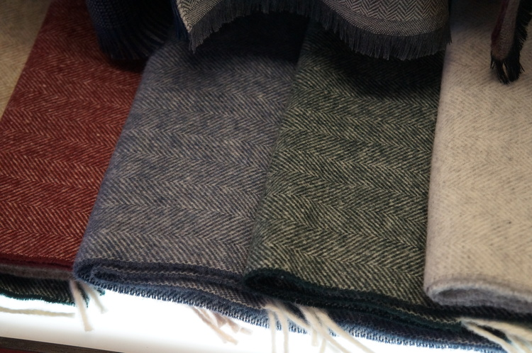 Herringbone Wool - Green