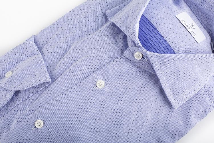 Pin Dot  - Light Blue/Navy Blue