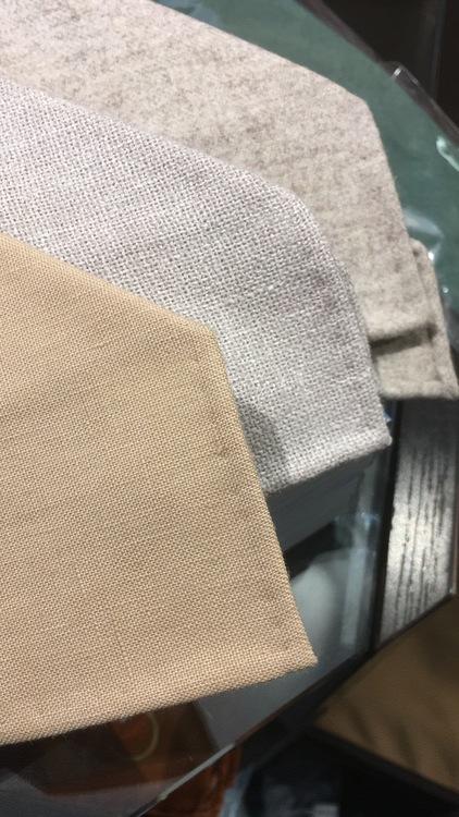 Wool Untipped Solid - Beige