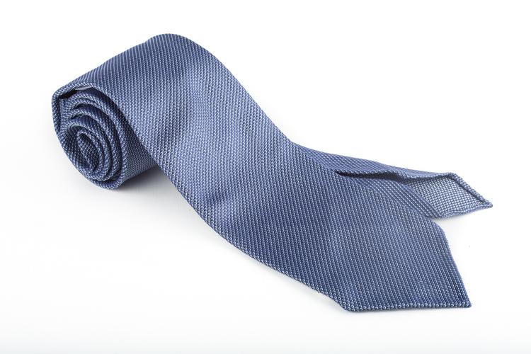 Silk Garza Solid Untipped - Light Blue