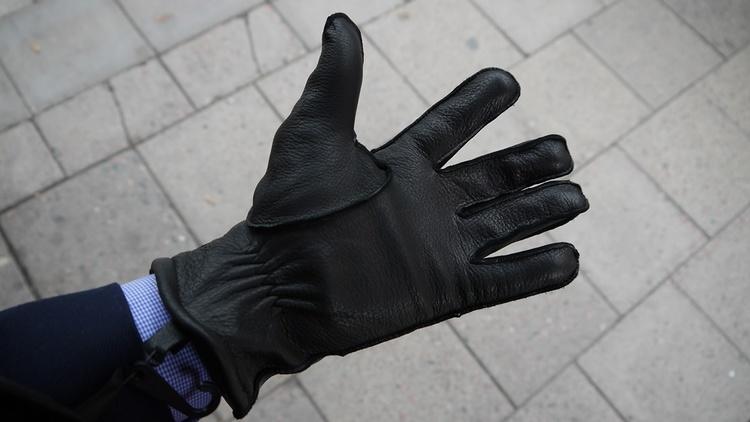 Deerskin Gloves - Black