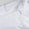 Fine Twill Shirt - Button Down - White