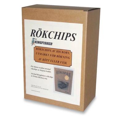 Rökchips hickory 3,5liter