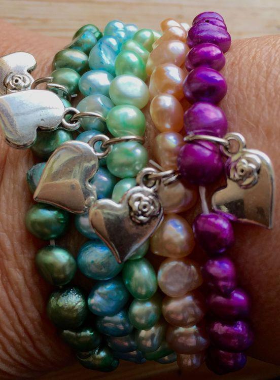Multicolor pärlarmband