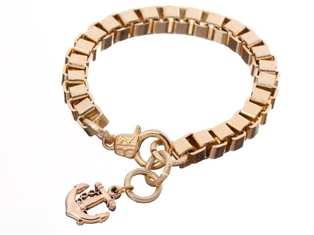Armband - Ankare guld
