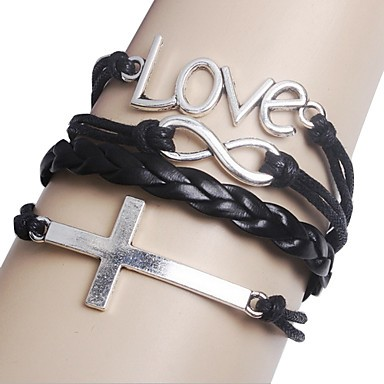 Armband - Cross & Love