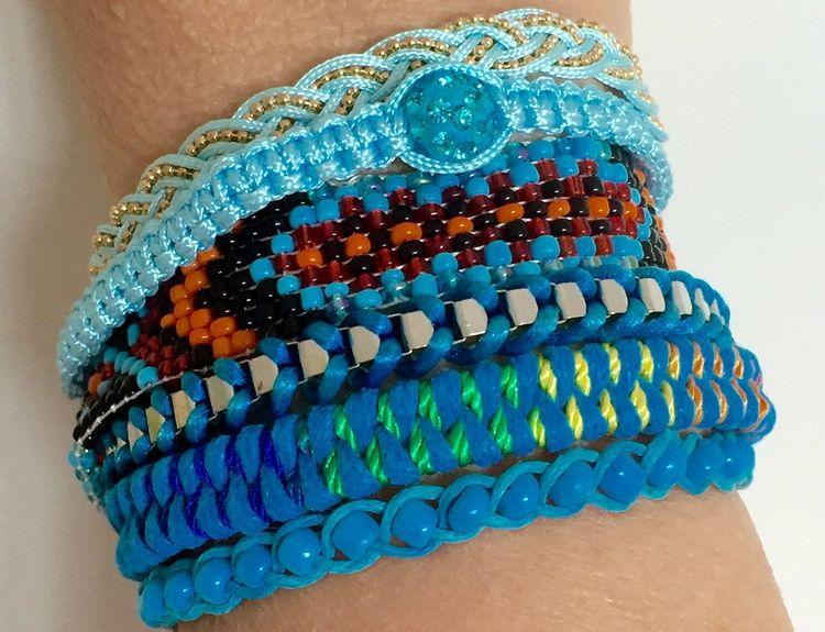 Armband Böhmen Weave Friendship Bracelet