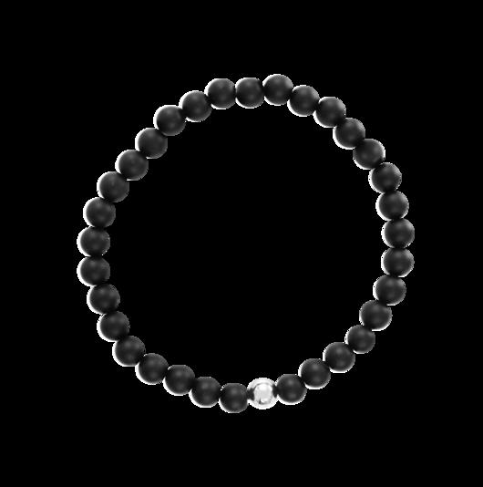 Black Silver Marble + Exklusiv armbandsbox