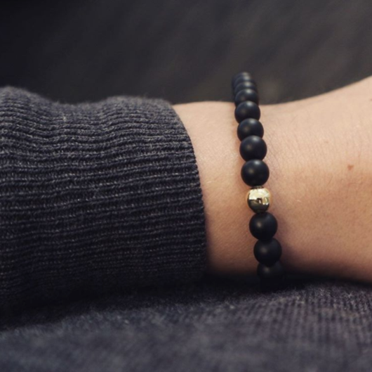 Black Gold Marble + Exklusiv armbadsbox