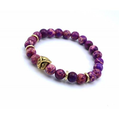 Owl Purple Stone
