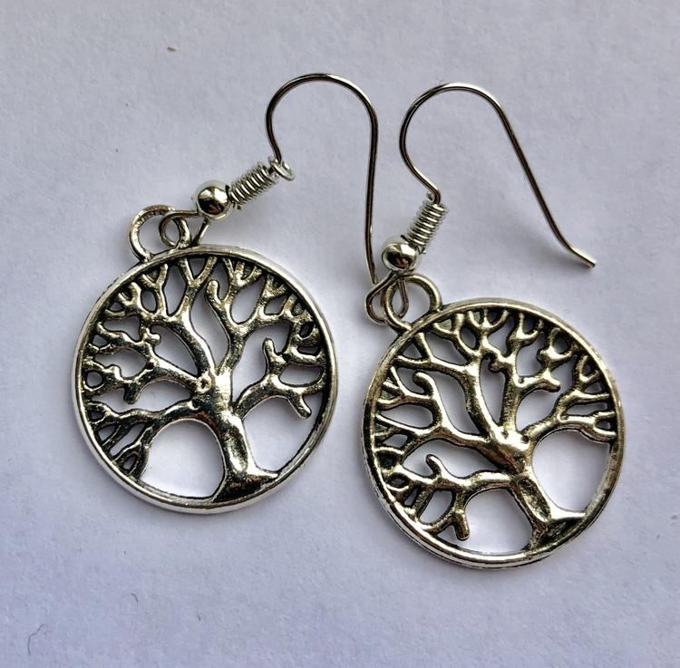 Örhänge Livets Träd