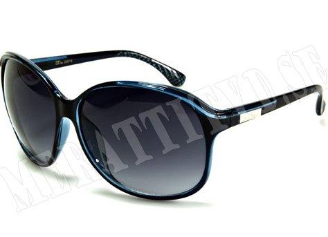 DG Fifties Fashion - Blå - Solglasögon