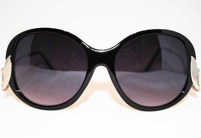 Glamour - Svart - Solglasögon